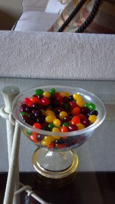 Even the jelly beans add a touch of yellow