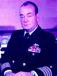 Captain Joseph P Harrison USN
