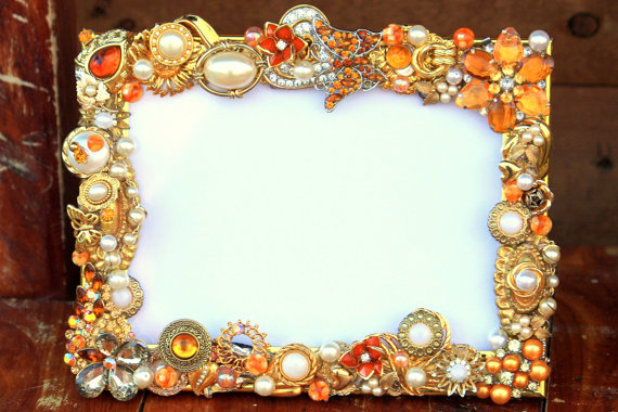 jeweled frame from Etsy