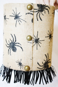 Spider lampshade available on Etsy