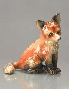 Fox figurine from Jay Strongwater