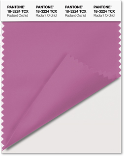 Pantone 2014 color of the year..Radiant Orchid