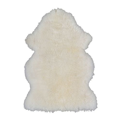 sheepskin rug from ikea