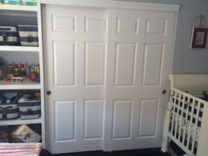 design baby nursery whole wall