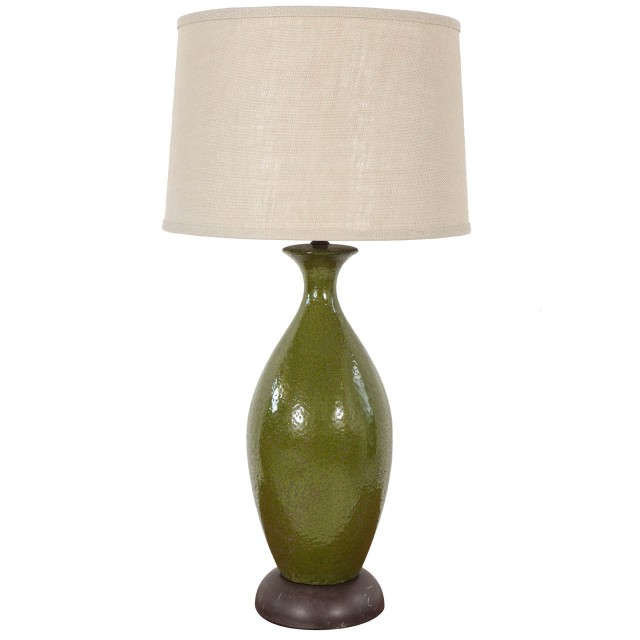 Urn style table lamp from 1st Dibs