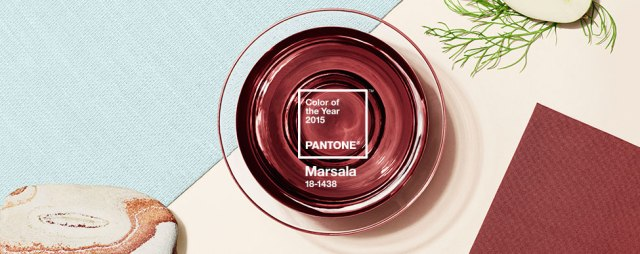 Pantone color of the Year for 2015--Marsala