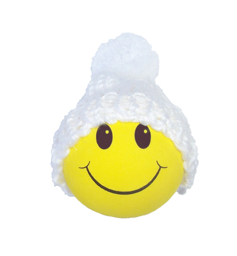 happy face snowman from antennaballstoredotcom