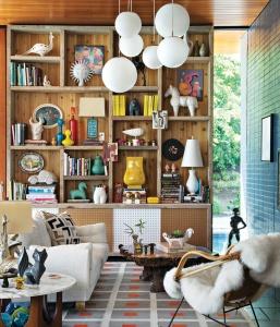 designer Simon Doonan via Domino Magazine