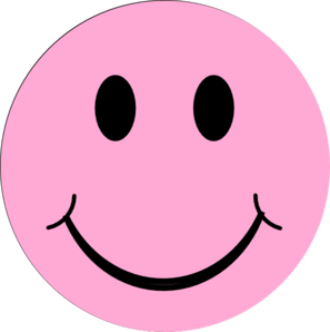 happy face pink from clipartbestdotcom