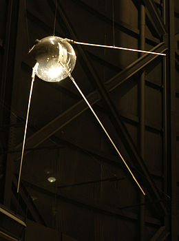 sputnik satellite via wikipedia