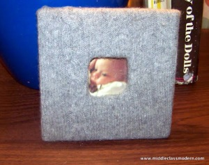 design sweater pic frame from middleclassmoderndotcom