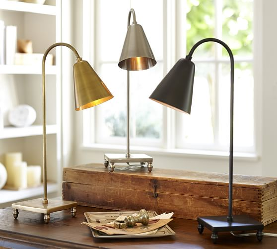 Lily lamp from Pottery Barn