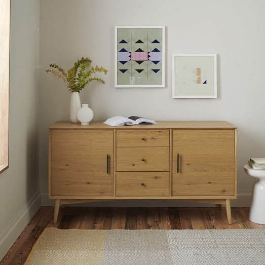 design mid century buffet from west elm
