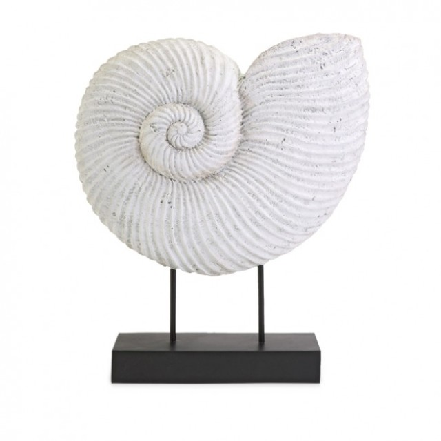 design seashell on stand from the simplied life via coastal design