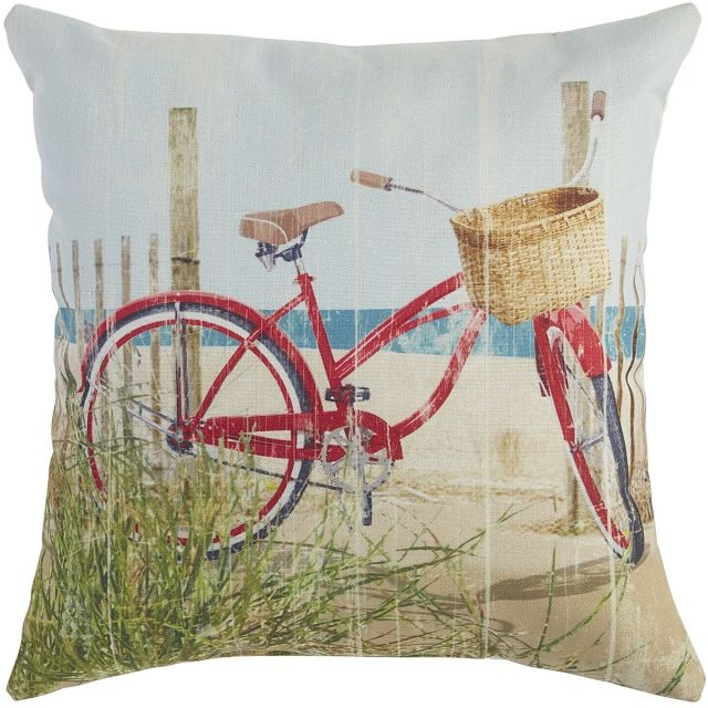 design summer theme pillow from pier 1
