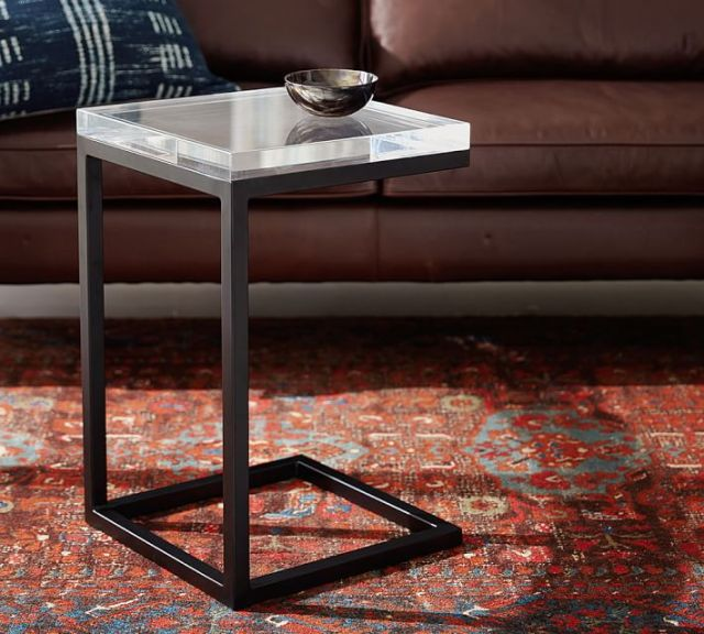 design end table fro pottery barn barton c table