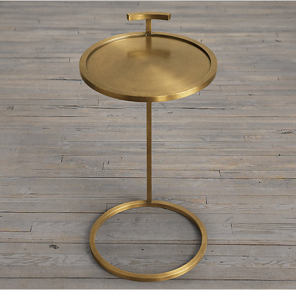 design end table martini table from resoration hardware