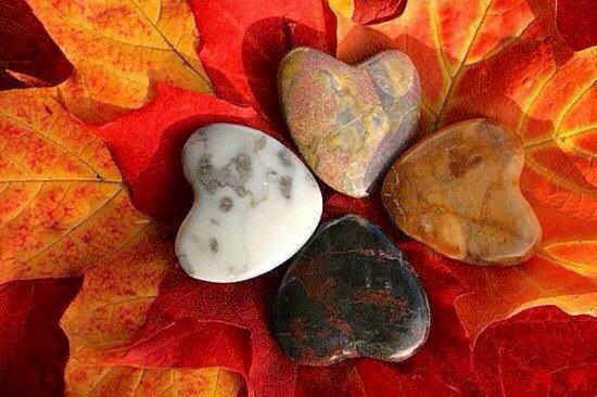 fall-leaves-and-rocks-in-heart-shape-from-lisa-leonard-facebook