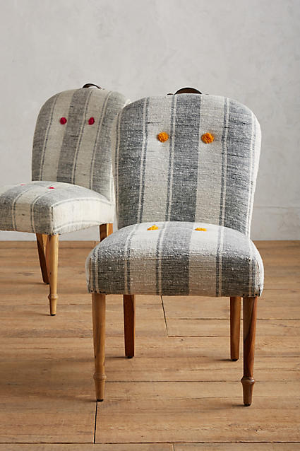 things-i-love-striped-and-tufted-chair-from-anthropologie-folkthread-chair