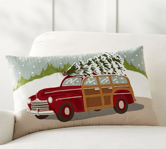 christmas-pillow-from-pottery-barn-car-with-tree-on-top