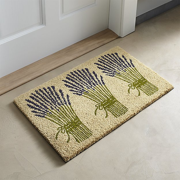 design doormat from crate and barrel