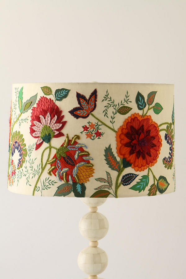 design lampshade from anthropologie