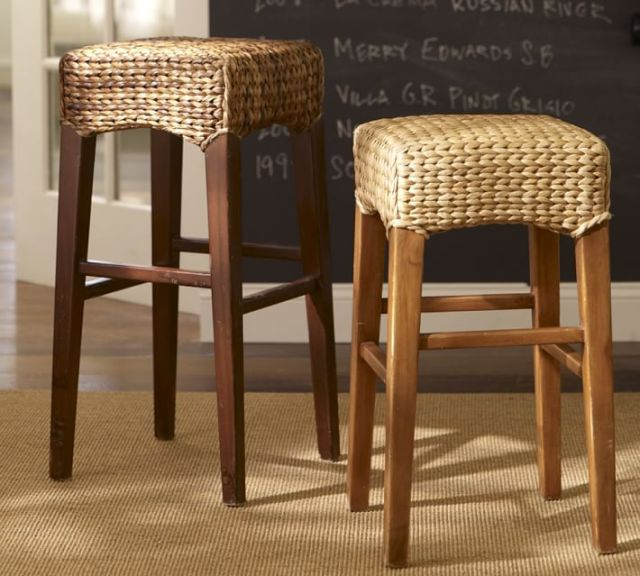 pottery barn bar stool
