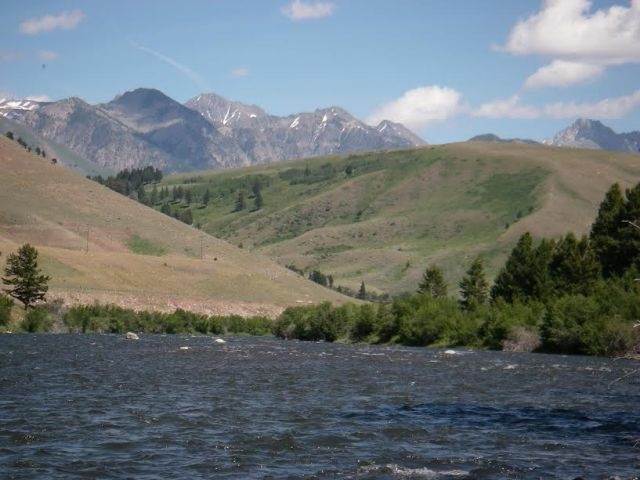 big sky madison river shot from dave doss
