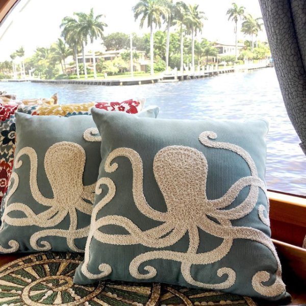 octupus pillow from pier 1 from @ajoliedesign