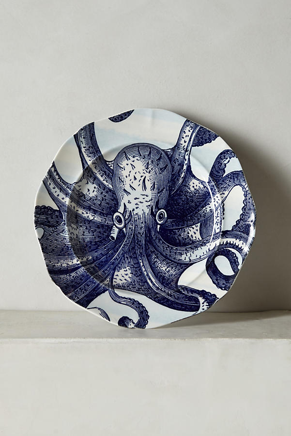 octupus plate from anthropologie