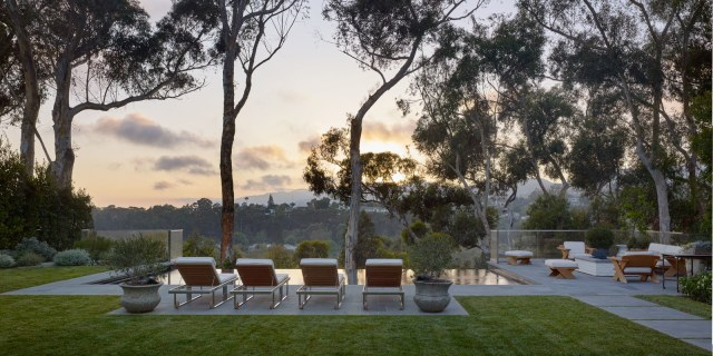 i could live here molly sims home in pacific palisades via arch digest